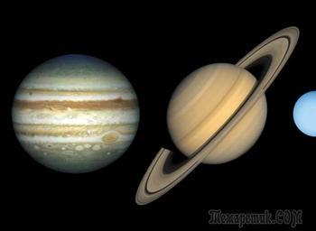 Юпитер и Сатурн в деталях: как много вы знаете о Солнечной системе?