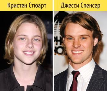 18 до жути похожих знаменитостей, которые выглядят как родственники