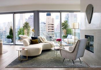 Впечатляющие современные апартаменты в нью-йоркском Soho
