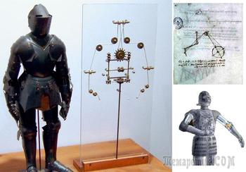 Средневековые роботы и андройды