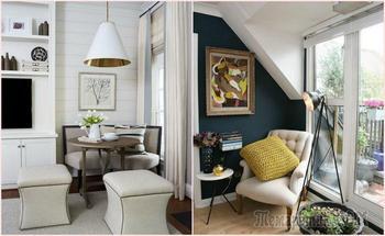Превращаем неприглядный серый угол в практичное и стильное пространство