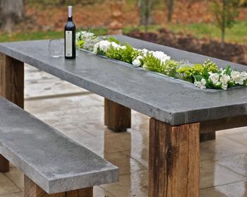 25 великолепных примеров использования бетона в саду, которые кардинально изменят внешний облик