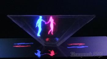 Как сделать 3D голограмму для смартфона