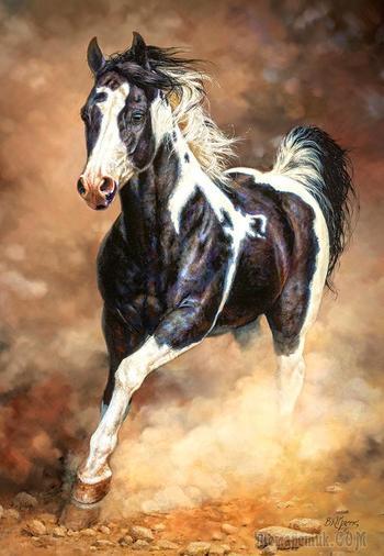 Бежит, бежит лошадка (Надежда Стрелкова)