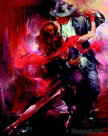 На тему танго (Стих)