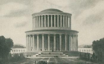 Проект Пантеона на Красной площади