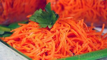 Этот рецепт Вам очень пригодится - морковь По-корейски
