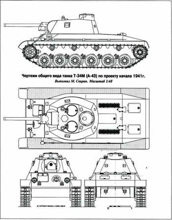 Эволюция средних танков в 1942-1943 годах в СССР. Т-43