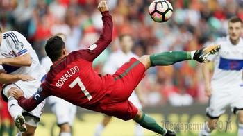 Первый хет-трик мундиаля: Роналду написал историю