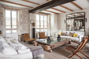 Винтажная Франция: особняк 19 века обрел новую жизнь