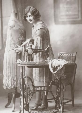 Вторая жизнь швейной машинки Зингер