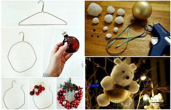 Новогодние поделки: 17 чудесных идей декора, которые позволят подготовить дом к празднику без больших затрат