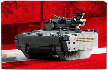 У «Курганца» появился серьёзный конкурент? Россия представила новую БМП Б-19