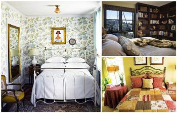 Уютные интерьеры для маленьких спален