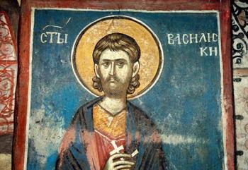 Святой Василиск, житие мученика Василиска Команского