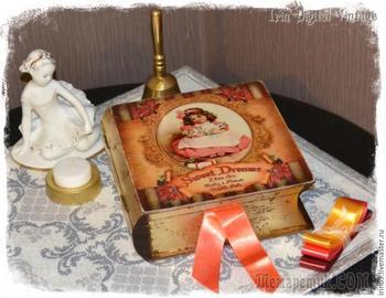 Мастер-класс: декорируем книгу-шкатулку «Сладкие мечты»