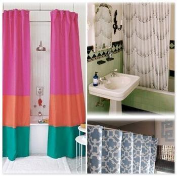 Шторки в ванную обновят ваш дизайн