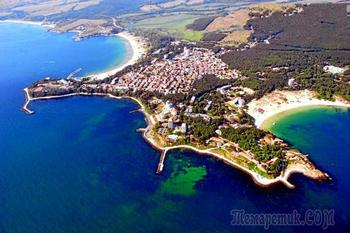 Болгарское побережье Черного моря 59. Китен - тихий южный курорт
