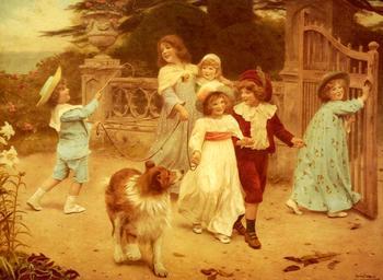 Английский художник писавший портреты детей