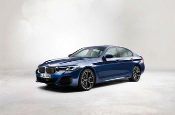 Обновленная BMW 5 серии: Наследственность поколений