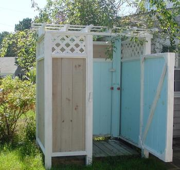 Как построить летний душ на даче своими руками: чертежи, советы, этапы постройки