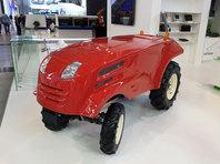 Структура Роскосмоса показала прототип беспилотного трактора