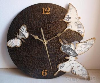 Часы своими руками: подробная инструкция по созданию навесных часов