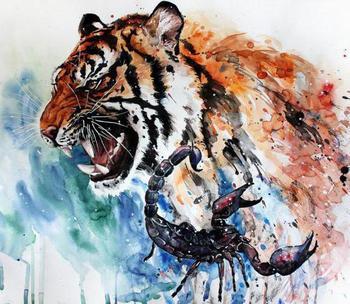 Сочетание знаков Скорпион-Тигр: женщина. Характеристика личности, любовных отношений, деловые качества