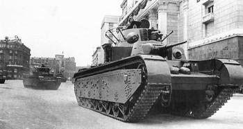 Сухопутный крейсер: экспериментальный тяжёлый танк СМК