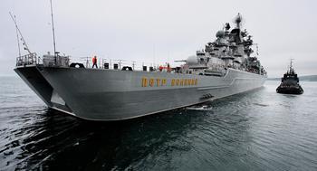 Тяжелый атомный ракетный крейсер «Петр Великий» на службе Родине