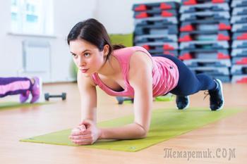10 упражнений для максимального сжигания жира