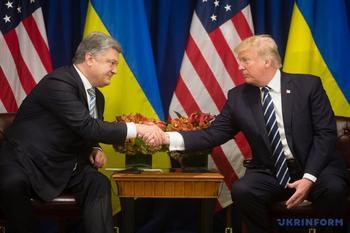 Трамп о встрече с Порошенко: мы достигли значительного прогресса