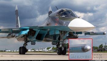 Современный российский истребитель-бомбардировщик СУ-34 и оригинальные технологии РЭП