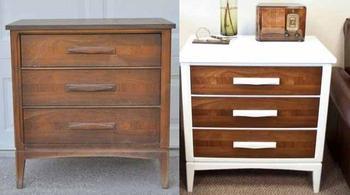 Как обновить старую мебель своими руками: 25 фото до и после с инструкциями