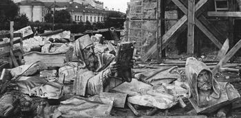 Как большевики разрушали храмы