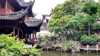 Китай 2018. 08. Шанхай. Старый город. Сад Юйюань.