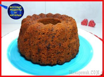 Шоколадный кекс с красным вином. Рецепт вкусного кекса