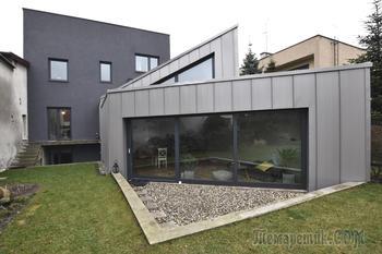 Пристройка к существующему дому в Польше