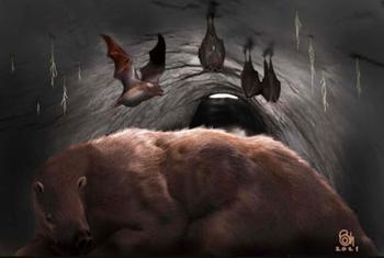 Палеонтологи обнаружили останки гигантской летучей мыши — вампира