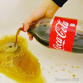 16 альтернативных способов использования Кока-колы, которые пригодятся в быту