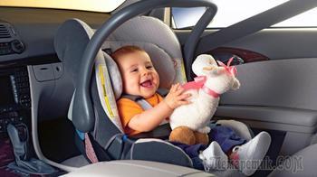 С какого возраста можно перевозить детей на переднем сидении?