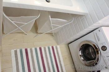 Ванная комната: универсальность белого