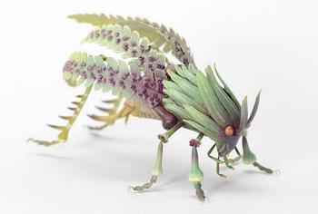 Просто фантастические насекомые созданные скульптором!