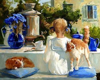 Художник Мария Павлова. Картины которые рождают улыбки