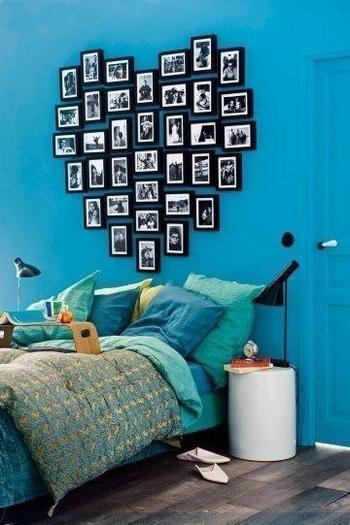 6 красивых идей оформления фотографий в доме