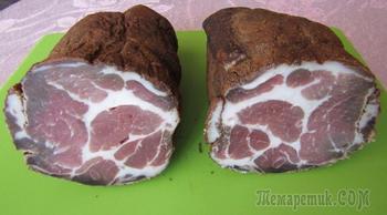 Вяленое мясо в домашних условиях (холодная сушка)