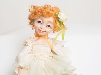 Мастерим куколку-цветочек