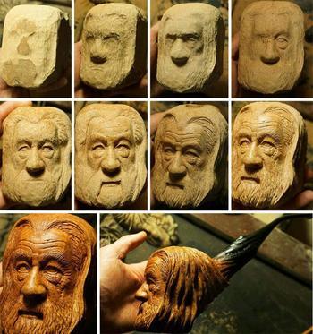 Невероятные работы из дерева