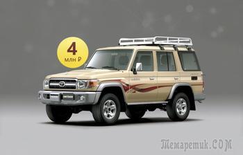 Вечная машина в 21 веке: стоит ли покупать Toyota Land Cruiser 70 за 4 миллиона рублей