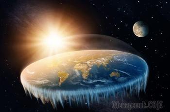 Сторонники теории плоской Земли предлагают объяснение «кровавой Луне»